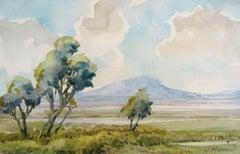 Meadow. 1974, watercolor on paper, 15x23,5 cm