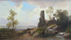Path by the sea. 1869. Oil on Canvas, 31x53 cm