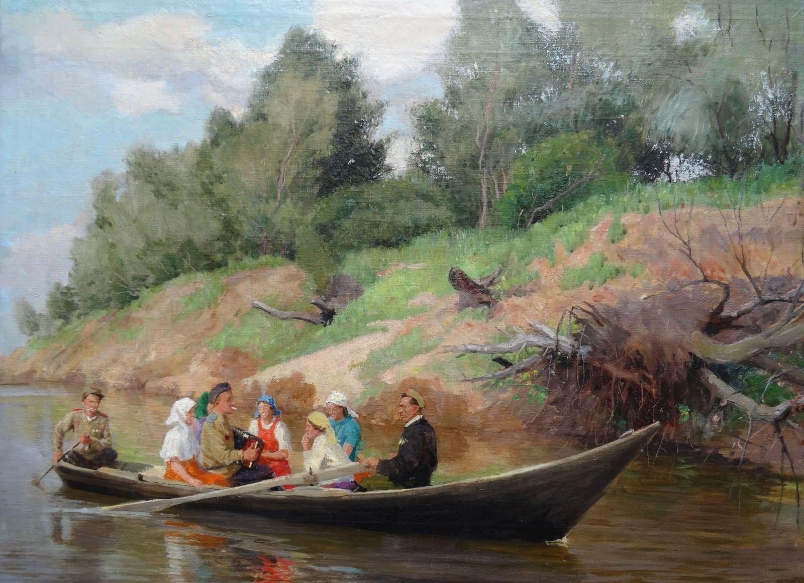 Spring. 1976. Canvas, oil, 57.5x77.5 cm
