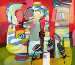 Picnic. 1999, paper, pastel, 28.5x33 cm