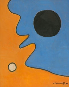 Composition 7. 1996, oil on board, 81x65 cm