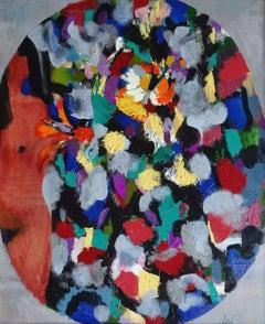 Flowers. 1996, oil on canvas, 69x57 cm