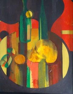 Vanita. 1995, oil on canvas, 57x69 cm