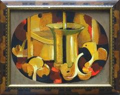 Mushrooms. 1995, oil on cardboard, 28,5x37 cm