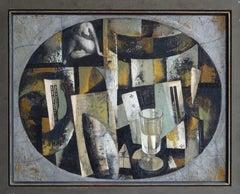 Motive. 1998, oil on canvas, 42x53 cm