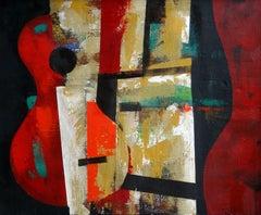 Silhouette. 1997, oil on canvas, 57x69 cm