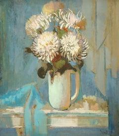 Flowers. 1990, oil on canvas, 92x81 cm