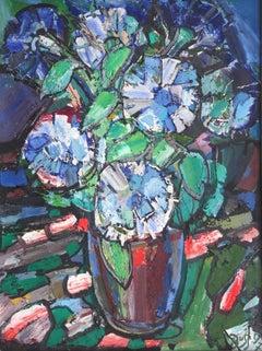 Flowers. 1997. Oil on canvas, 60x45 cm