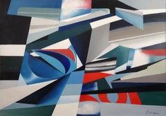 Magic realism 22/73. 1973., oil on canvas, 100 x 140 cm