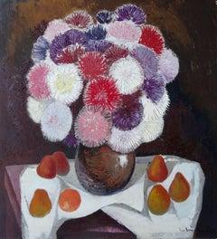Still Life. 1980. Oil on canvas, 100x92 cm