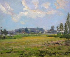 Outskirts of town. 1959, oil on cardboard, 44x54 cm