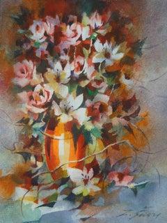 Fiori, 2020. Paper, watercolor, 24 x 18,5 cm