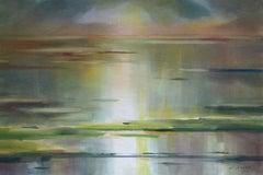 At Baltic sea. 2020. Watercolor, paper, 63x94 cm