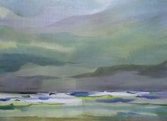 At the sea. 2020, Watercolor, paper, 62,5 x 85 cm