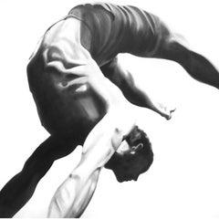 Jump 55, Oil on Canvas
