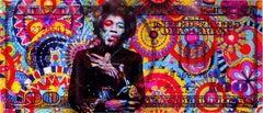 Hendrix Cash Culture, Acrylic on Giclee