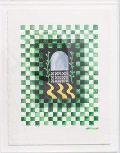 Checkerboard Window VI