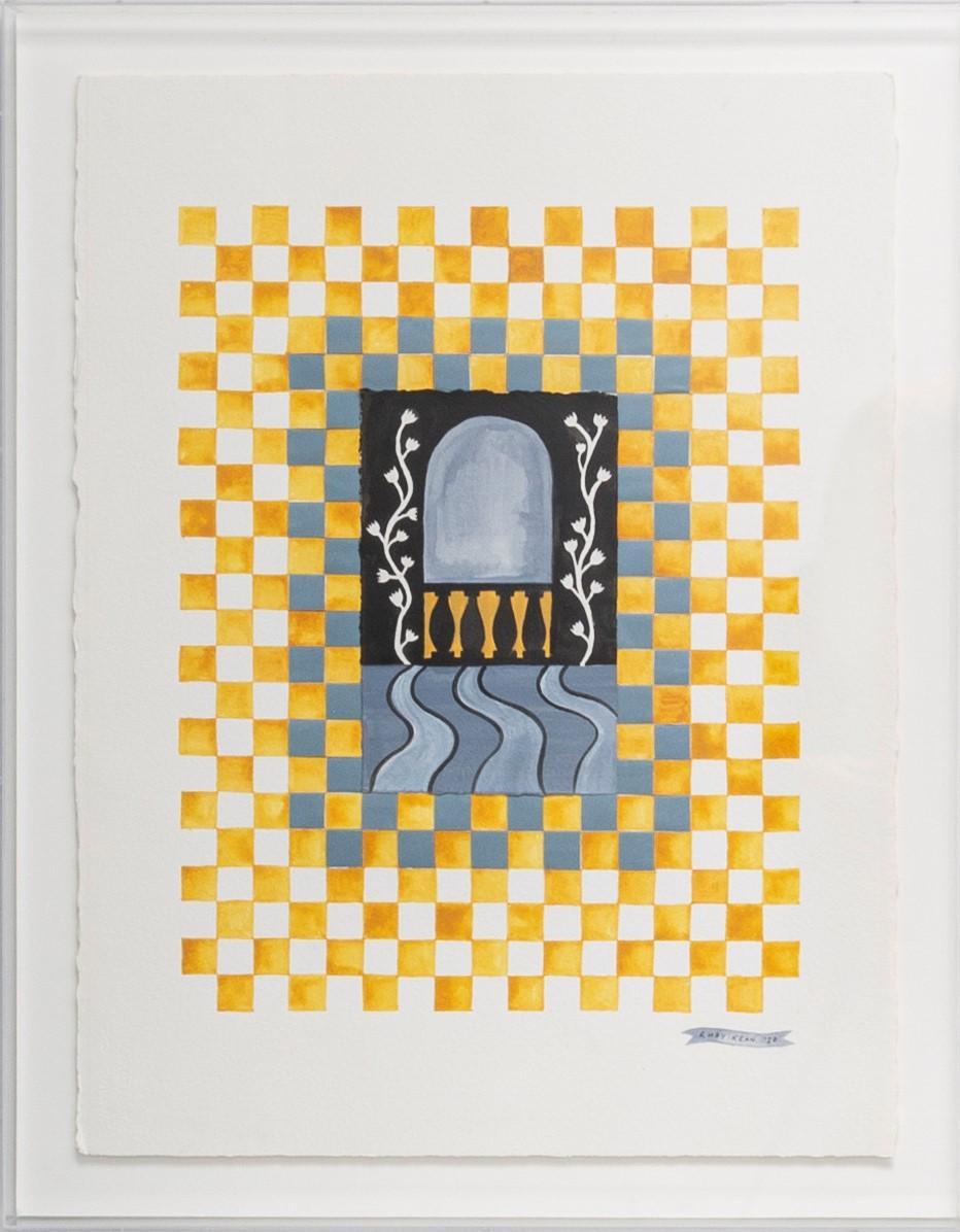Checkerboard Window V