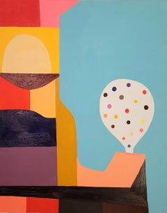 'Gumball,' by Peter Healy, Acrylic Painting on Wood