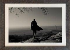 'HADZABE SKYLINE,'  Tanzanian Landscape, Black & White Photo by Nicol Ragland