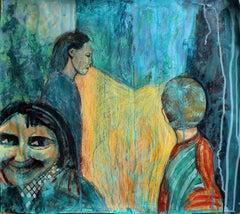 'Walk with No Expectations,' by Erekle Chinchilakashvili, Mixed Media Painting