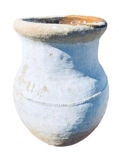 Large Antique Portuguese Orchard Pot