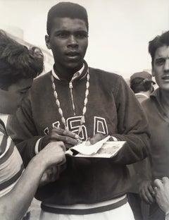 Muhammad Ali at the XVII Rome Olympics