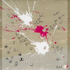 Happy Splash - contemporary art between figurative and abstract, action painting