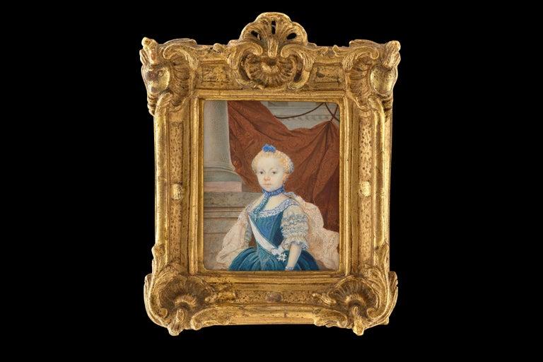 Portrait miniature of Frederika Charlotta Insenstierna (1757-1811), Watercolour  - Rococo Art by Unknown