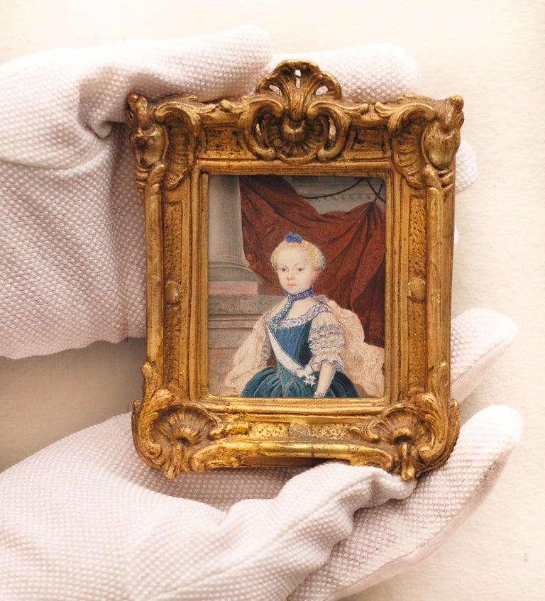 Portrait miniature of Frederika Charlotta Insenstierna (1757-1811), Watercolour  - Art by Unknown