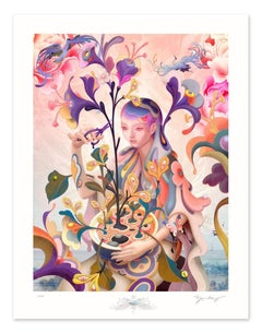 James Jean - The Editor - Contemporary Art