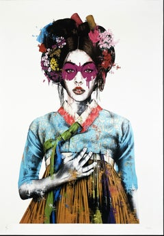 Fin Dac - Sonyeo - White Edition - Urban Graffiti Street Art