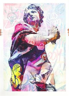 PichiAvo - Young Dionysus Lefkos - Urban Graffiti Street Art