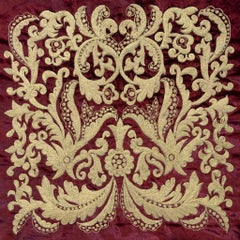Brocade - Embroidered Tapestry Wall Hanging
