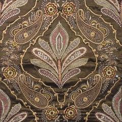 Jaali: Kairi (Paisley) - Embroidered Tapestry Wall Hanging