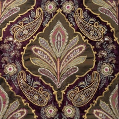 Jaal - Kairi (Paisley) - Velvet Edition - Embroidered Tapestry Wall Hanging