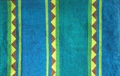 Raaga - Kalyani (Night) - Embroidered Tapestry Wall Hanging