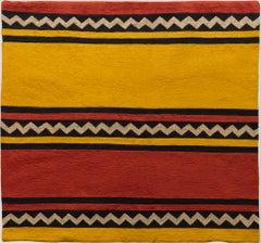Raaga - Komal (Morning) -  Embroidered Tapestry Wall Hanging