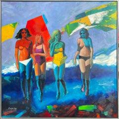 Summer Girls ** Original Acrylic on Canvas