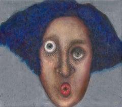 Gila Hamzani  ** Looking Inside ** Original Acrylic On Canvas
