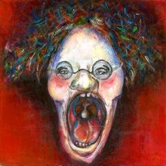 Gila Hamzani  ** Screaming ** Original Acrylic On Canvas