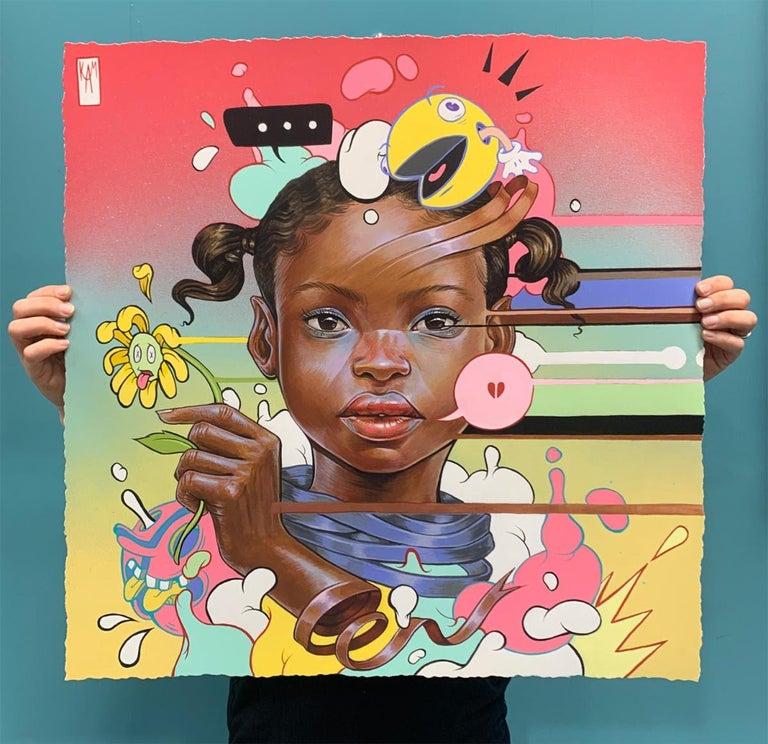 Disjointed - Print by kayla Mahaffey