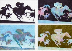 Four Studies For Winners, Original Drawing, Guillaume Azoulay