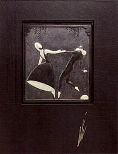Pas de Duex (Bronze) Bas Relief & Signed Deluxe Book Limited Edition Erte