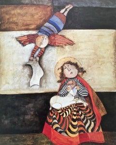 L'Annonciation, Original Lithograph, Graciela Boulanger