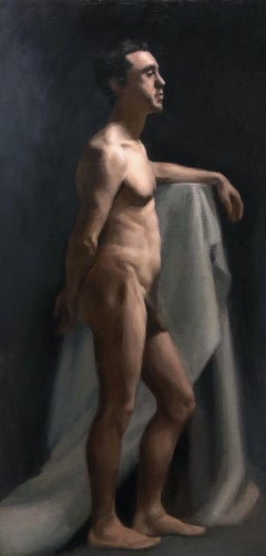 Nude Painting of Andrea