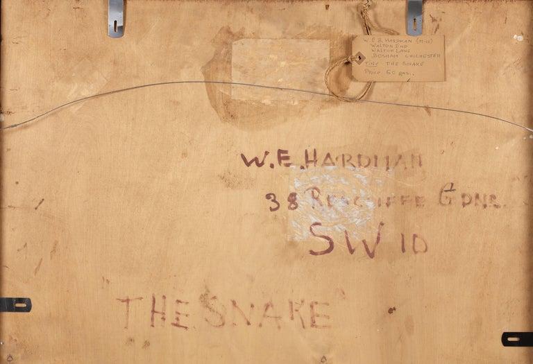 'Eve' (the Snake) - Painting by Winifred Elizabeth Beatrice Hardman