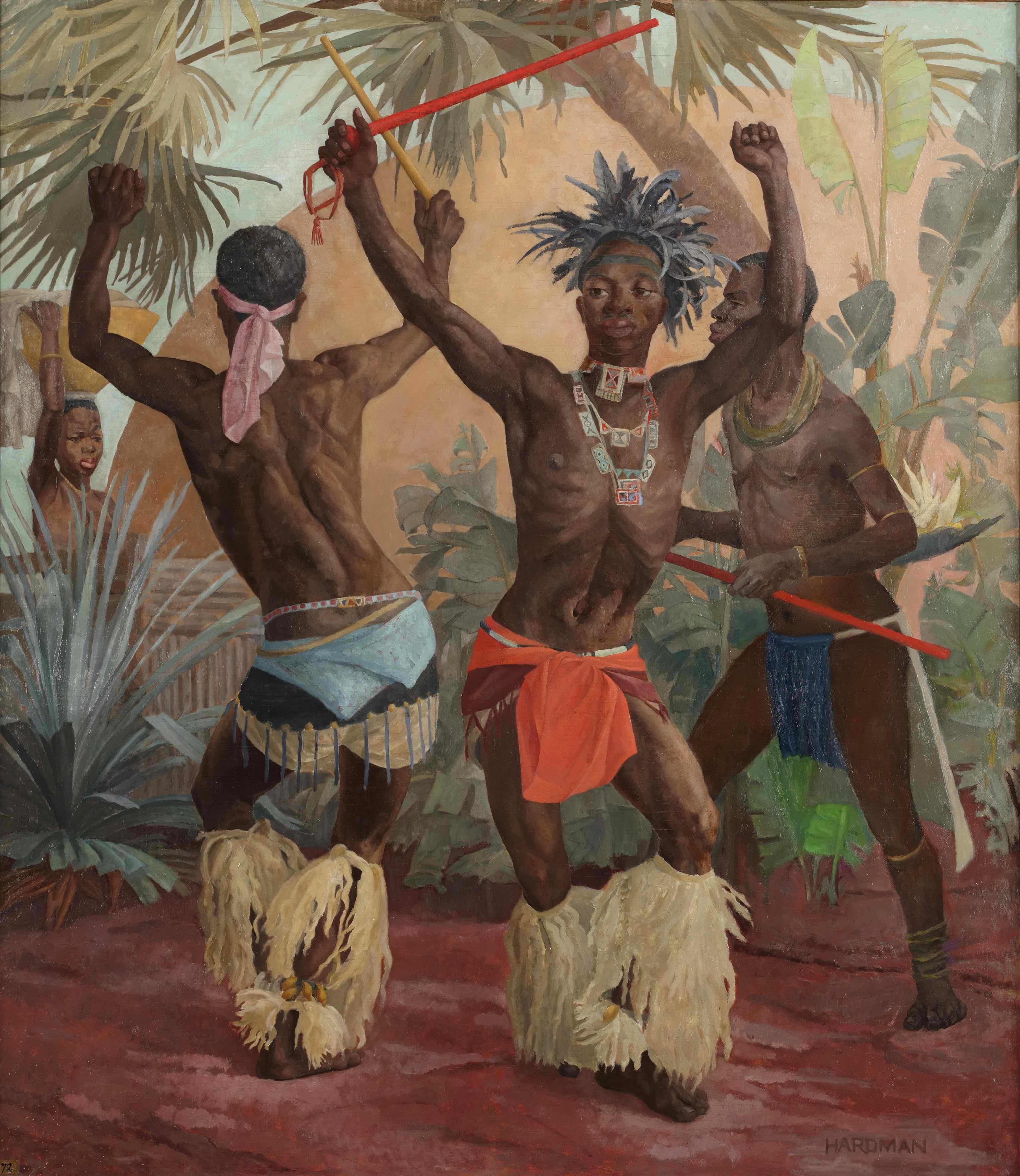'Zulu Dancers'
