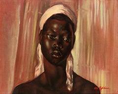 Portrait of an African Woman, Jeune fille Bakura m'Fruja