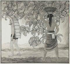 Incoming Rain, Bali, 1937